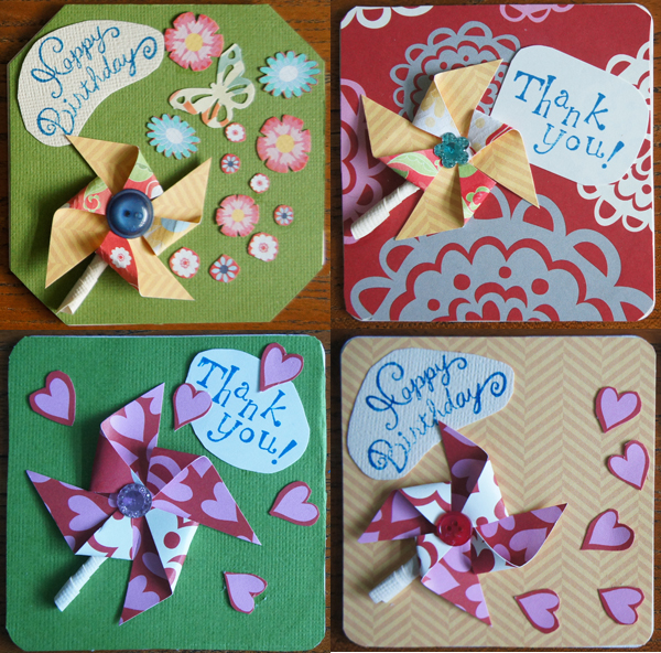 4x4 inch gift tags or toppers