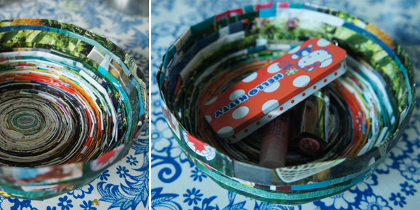 upcycled-recycled-magazine-paper-bowl