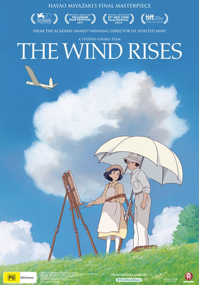 The Wind Rises, animation for adults