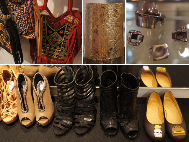 Boots, Bags, and Bling - all part of the Dream Factory Collection