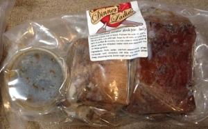 Delicious pre-packaged pork belleh
