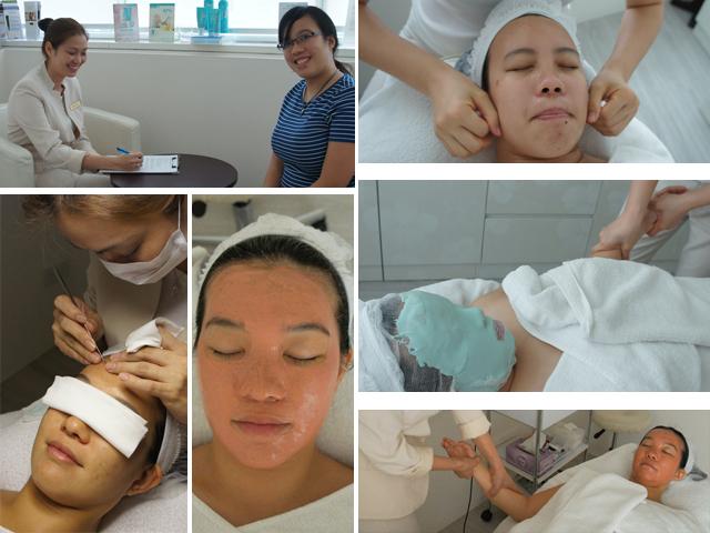 The PhysioAesthetics Signature Organic Facial (SGD$250 for 90minutes)