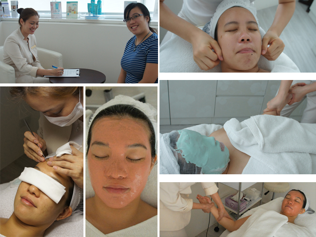 The PhysioAesthetics Signature Organic Facial (SGD$250 for 90minutes)