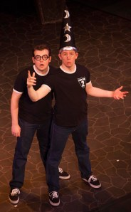 Dan and Jeff, out of the Broom Cupboard!