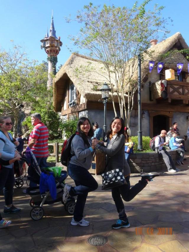 Meet you at Rapunzel's Tower!