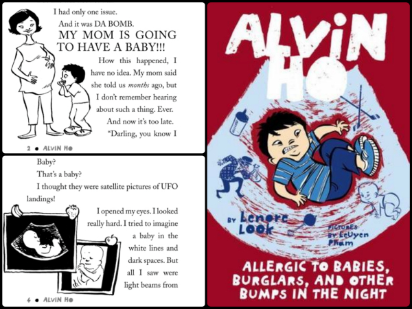 Alvin Ho: Allergic to Babies, Burglars and Other Bumps in the Night by Lenore Look