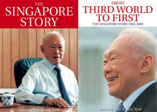 book review on lee kuan yew The best way to quicken the pace and direction of political change in china is to  increase her trade and investment links with the world then her prosperity will.