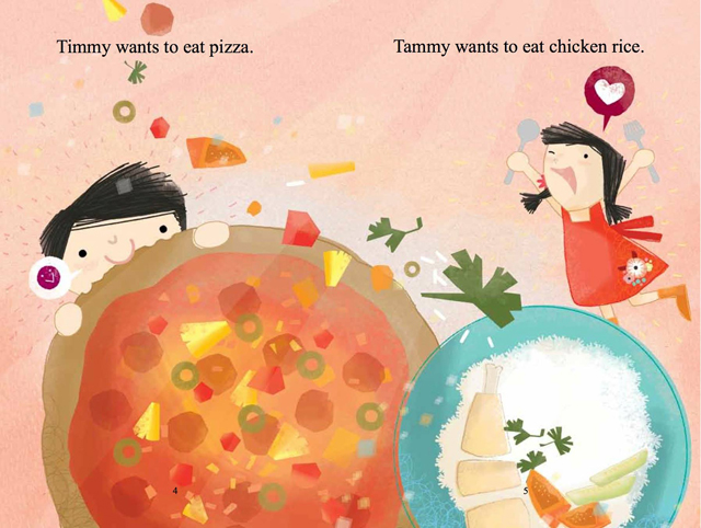 Super cute illustrations by Eliz Ong