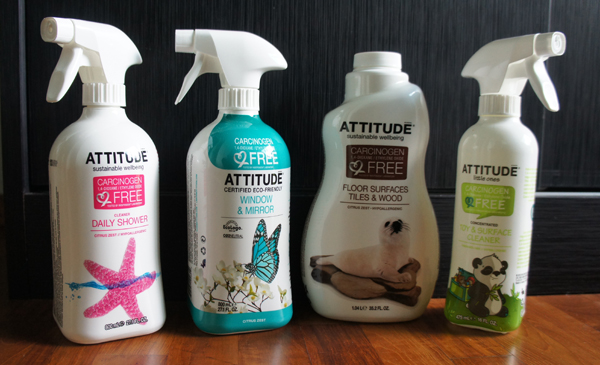 Worry-free household cleaning products
