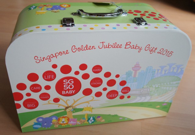 A special delivery for Singapore's Golden Jubilee