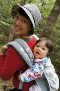 Little E in the Ergo Baby Carrier