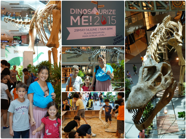 Dinosaurize Me! 2015 at Plaza Singapura