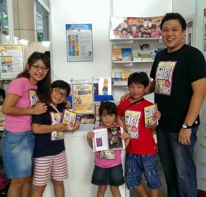 The Cheekiemonkies with their awesome book (Picture Credit: Cheekiemonkies)