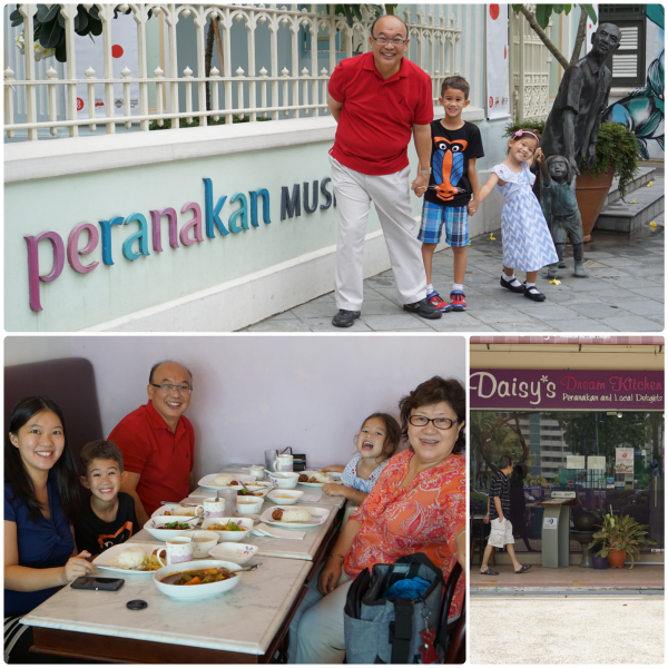 At the Peranakan Museum and Daisy's Dream Kitchen