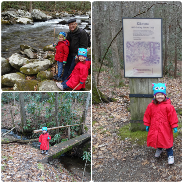The Little River Trail and the Elkmont Campgrounds