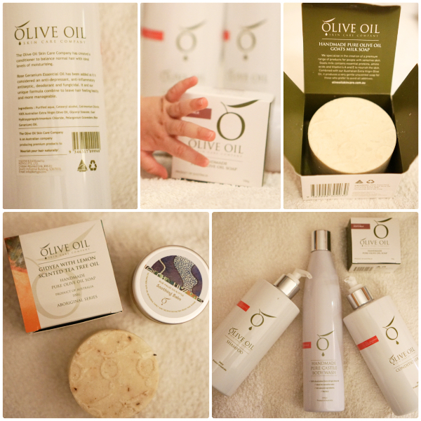 A selection of our favourites from The Olive Oil Skin Care Company