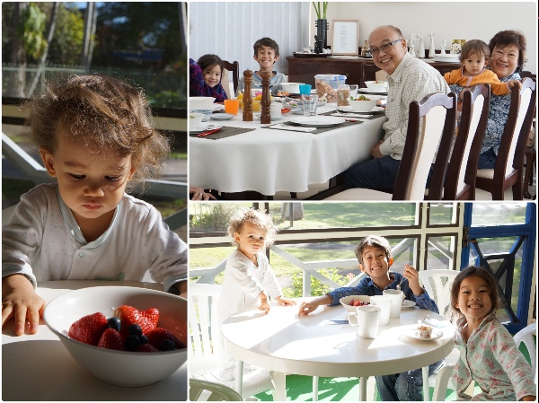kids-australia-breakfast-holiday-macquarie-port-sydney